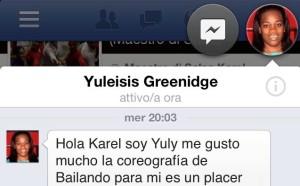 mensaje Yuly Havana C ritagl
