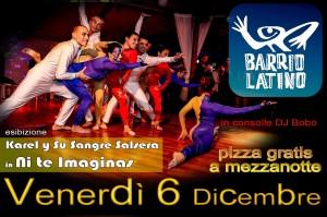 Karel y su Sangre Salsera Barrio Latino 6dic13